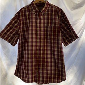 Men's plaid carhartt shirt